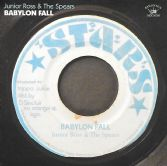 Junior Ross & The Spears - Babylon Fall (Kingston Sounds) LP
